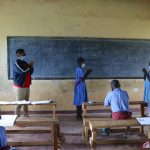 The Water Project: Mukoko Baptist Primary School -  Demonstrating Contactless Greetings