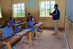 The Water Project:  Facilitator Jacklyne Conducting Training