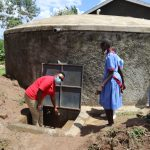 The Water Project: Mukoko Baptist Primary School -  Practical Sessin At The Tank Site