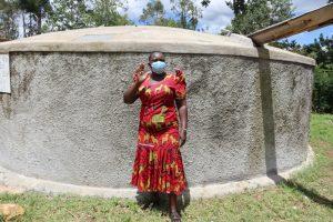 The Water Project:  Senior Teacher Madam Eunice Katiti
