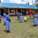 The Water Project: Mukoko Baptist Primary School -  Handwashing Session