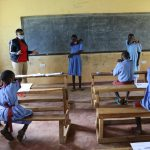 The Water Project: Mukoko Baptist Primary School -  How To Elbow Cough