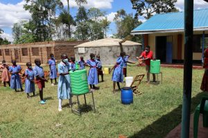 The Water Project:  Proper Handwashing Means Using Soap