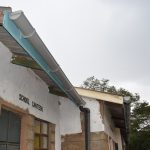 The Water Project: Mutulani Secondary School -  Gutters To Catch Rainwater