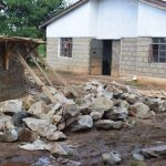 The Water Project: Mutulani Secondary School -  Rocks Wait To Be Used For Tank Walls