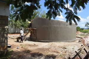 The Water Project:  Walls Near Completion