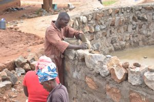 The Water Project:  Cementing The Walls