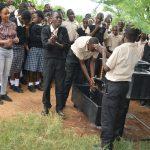 The Water Project: St. Paul Waita Secondary School -  Handwashing Demonstration