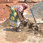 The Water Project: St. Paul Waita Secondary School -  Mixing Cement
