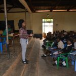 The Water Project: St. Paul Waita Secondary School -  Sanitation And Hygiene Training