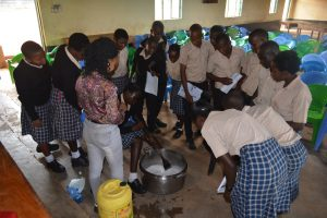 The Water Project:  Soap Making Demonstration