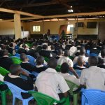 The Water Project: St. Paul Waita Secondary School -  Students At The Training
