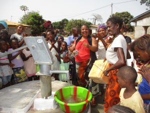 The Water Project:  Community Members Celebrating Safe Drinking Water