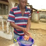 The Water Project: Lungi, New London, #10 Dankama Street -  Handwashing Demonstration