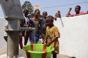 The Water Project:  Kids Celebrating And Splashing Clean Water