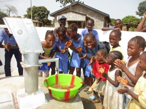 The Water Project:  Kids Celebrating Clean Water Flowing