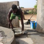 The Water Project: Lungi, New London, #10 Dankama Street -  Pad Construction