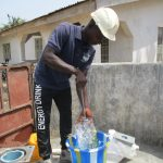 The Water Project: Lungi, New London, #10 Dankama Street -  Staff Testing Cylinder