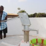 The Water Project: Lungi, New London, #10 Dankama Street -  Young Man Collecting Clean And Safe Drinking Water