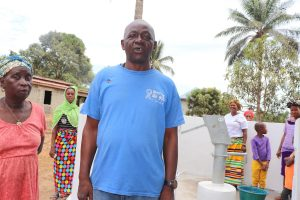 The Water Project:  Chairperson Mr Bankole Davis Seasy Making A Statement