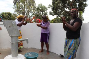 The Water Project:  Community People Singing And Celebrating