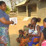 The Water Project: Lungi, Mahera, #5 MacAuley Street -  Hygiene Facilitator Teaching About Toilet And It Importance