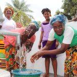 The Water Project: Lungi, Mahera, #5 MacAuley Street -  Old Women Celebrating