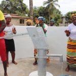 The Water Project: Lungi, Mahera, #5 MacAuley Street -  Pumping The New Well