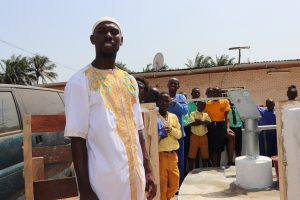 The Water Project:  Mohamed A Koroma