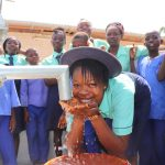 The Water Project: Lungi, Tardi, Khodeza Community School -  Student Drinking Water