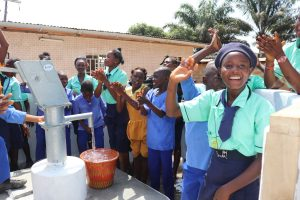 The Water Project:  Students Celebrating