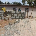 The Water Project: Lungi, Tardi, Khodeza Community School -  Pad Construction