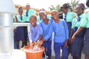 The Water Project:  Students Splashing Safe Drinking Water
