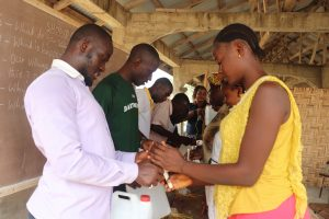 The Water Project:  Teachers Constructing Tippy Tap