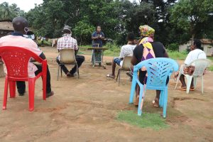 The Water Project:  Hygiene Facilitator Teaching About Balanced Diet