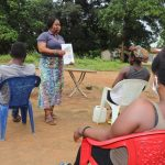 The Water Project: Lungi, Kambia, #6 Bangura St. -  Discussing Bad Hygiene Practices