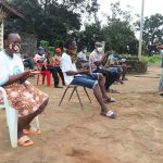 The Water Project: Lungi, Kambia, #6 Bangura St. -  Hygiene Faculitator Teaching About Handwashing