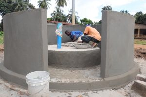 The Water Project:  Pad Construction