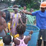 The Water Project: Lungi, Kambia, #6 Bangura St. -  Yield Test