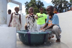 The Water Project:  Kids Celebrating And Splashing