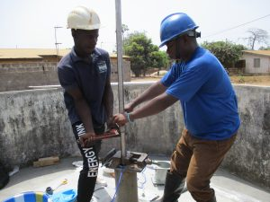 The Water Project:  Sierrra Pump Installation