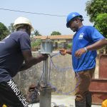 The Water Project: Lungi, New London, #10 Dankama Street -  Pump Installation