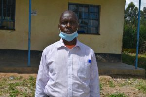 The Water Project:  Headteacher Mr Kibet Samoei