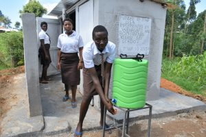 The Water Project:  Handwashing At The Latrines