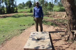 The Water Project:  Jeremiah Happy About His Sanplat