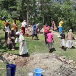 The Water Project: Lukala C Community, Livaha Spring -  Community Mobilizing Materials