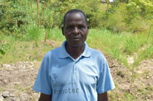 The Water Project:  Mr Charles Muhuyi