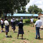 The Water Project: Friends School Shivanga Secondary -  Jonathan Leads Operation And Maintenance Session