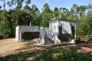 The Water Project:  The New Latrines