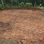 The Water Project: Friends Kisasi Secondary School -  Tank Foundation Underway
